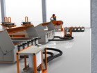 Скачать фото Строительные материалы Технологическая линия по производству световых опор св 71435618 в Алзамае