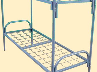 Просмотреть фотографию Разное Кровати металлические со сварной сеткой ,металлические кровати эконом ,кровати эконом 63998120 в Архангельске