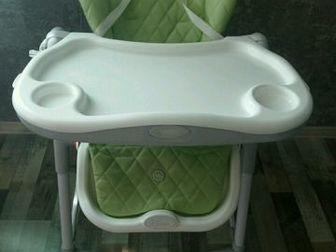 Детский стул для кормления HB  classik от 6 месяцев,  Три степени наклона спинки, ремни безопасности, регулировка высоты, регулировка уровня подъёма ножек, мягкие в Артеме
