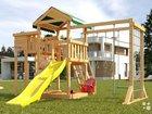 Детская деревянная игровая площадка 36