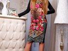 Изображение в Одежда и обувь, аксессуары Женская одежда Платье Кис-кис. Состав: структурированный в Балаково 1400