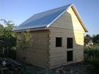 Новое фото Строительство домов Сруб 4х4 м, из строганного бруса 37969800 в Барнауле