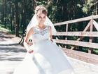 Фото в Одежда и обувь, аксессуары Свадебные платья Продаю платье! Одевалось всего один раз, в Барнауле 15000
