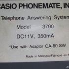 Автоответчик Casio model 3700