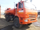 Просмотреть изображение Грузовые автомобили АТЗ-10 на шасси Камаз 43118 без пробега от завода изготовителя Доставка 34857912 в Белоярском