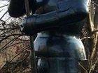 Изображение в   Металлическая скульптура средневекового рыцаря в Белореченске 0