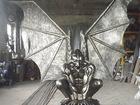 Просмотреть изображение  Скульптура из металлаГоргулья с крыльями 39807693 в Белореченске
