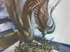 Новое фотографию  Скульптурная композиция Семья аистов 39807718 в Белореченске