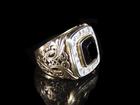 Изображение в   Продам золотой перстень с фионитом 583 пробы, в Бийске 40000