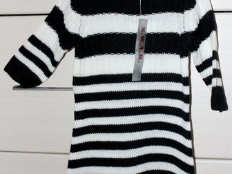 Скачать фото Детская одежда Платье вязаное, 4-5 лет 33795021 в Бийске
