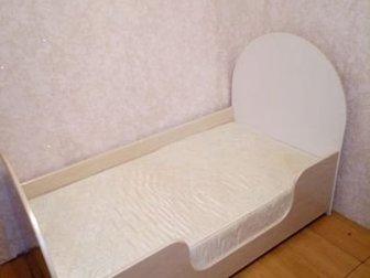 Продам детскую кроватку с матрасом в отличном состоянии для ребёнка от 2 до 7 лет,  Размер спального места 150х80, Состояние: Б/у в Бийске