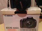 Фото в   Продам фотоаппарат зеркальный Canon EOS 600D в Благовещенске 20000