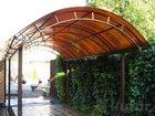 Фотография в Строительство и ремонт Строительные материалы Навес из поликарбоната для автомобиля - это в Богучаре 0