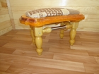 Уникальное фото Мебель для дачи и сада Лавочка обита тканью 38513716 в Брянске