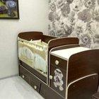 Кровать детская трансформер с маятником