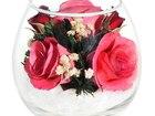 Скачать бесплатно foto Другие предметы интерьера Композиция из розовых роз (арт, BmiRp) 53940387 в Челябинске