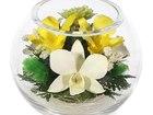 Просмотреть фотографию Другие предметы интерьера Композиция из роз и орхидей (арт, BSM1) 53940643 в Челябинске