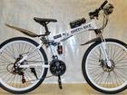 Новое foto Велосипеды Велосипед GREEN BIKE на спицевых колесах, 2 амортизатора, складной 62160480 в Челябинске