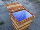 Увидеть изображение Мебель для ванной Корзина для белья (плетеная) 69595353 в Челябинске