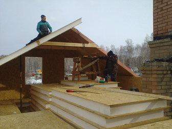 Увидеть фото Строительство домов Строительство мансарды из сип панелей 68942712 в Челябинске