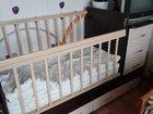 Детская кровать 2 в 1
