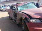 Фото в Авто Аварийные авто Infiniti FX45 красный кроссовер 5 дверей, в Дербенте 500000
