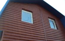 Блок-хаус и металлический сайдинг