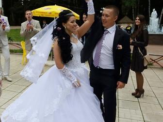 Просмотреть изображение Свадебные платья Красивое свадебное платье 34120249 в Дмитрове