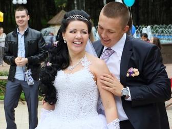 Смотреть изображение Свадебные платья Красивое свадебное платье 34120249 в Дмитрове