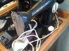 Швейная машина Подольск с электрическим приводом