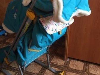 Санки в хорошем состоянии,после одного ребёнка,3 положения ,в комплекте сумочка и меховая муфта ,имеются небольшие колесикиСостояние: Б/у в Дзержинске