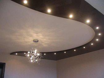 Смотреть изображение Ремонт, отделка Натяжные потолки, Любой сложности, любой цвет 32315151 в Ейске