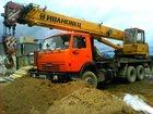 Скачать бесплатно фото Автокран Услуга Аренда Автокрана 5 тонн, 25 тонн 33159363 в Екатеринбурге