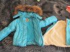 Изображение в   теплая курточка для девочки, подклад отстёгивается, в Екатеринбурге 1700