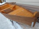 Уникальное изображение  Лодка деревянная весельная 4,5м, 43723266 в Екатеринбурге