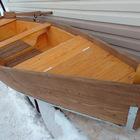 Лодка деревянная весельная 4,5м.