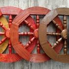Колеса деревянные диаметр 50см