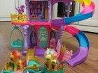 Замок принцессы My Little Pony  7 шт и один питоме