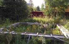 Продам участок с фундаментом под дом в пос, Кобрино Гатчинский р-он