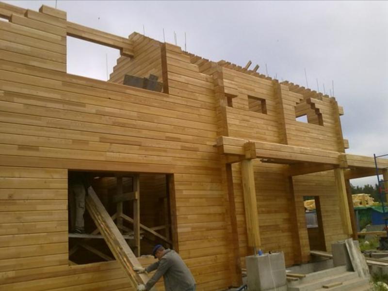 Смотреть строительство дома