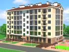 Новый жилой комплекс состоит из трех шестиэтажных домов. Дом