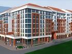 Жилой комплекс состоит из девяти семиэтажных корпусов. Внутр