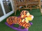 Качалка новая тигр