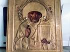 Увидеть фото Антиквариат Икона Николай Чудотворец,19век 68877952 в Горно-Алтайске
