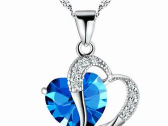 Просмотреть фото Ювелирные изделия и украшения Ожерелье для женщин в форме сердца 68054188 в Липецке