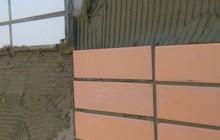 Демонтаж и монтаж фасадной плитки