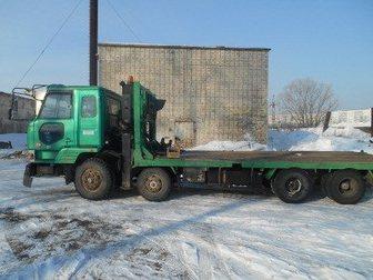 Скачать бесплатно фото Самопогрузчик (кран-манипулятор) Грузоперевозки 20 тонн 32900495 в Хабаровске