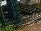 Рама без лестницы для фасадных лесов бу