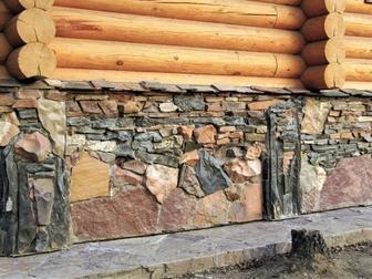 Уникальное foto  Отделка натуральным и декоративным камнем 69305298 в Иркутске