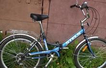 новый велосипед 7 скоростной stels